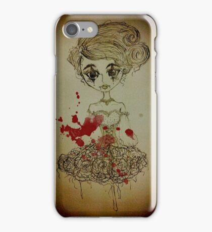 Nightmare Harlequin Lolita Doll iPhone Case/Skin