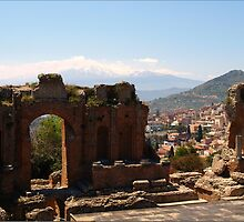 Theatre Greco, Taormina by Janone
