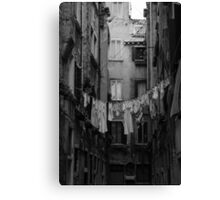 Desolate Streets of Venice  Canvas Print