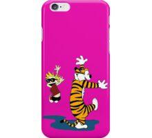 Calvin & Hobbes Dance,Calvin & Hobbes iPhone Case/Skin