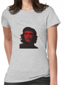 Che Guevara ( Red tint) Womens Fitted T-Shirt