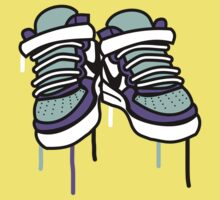 Air Force Ones - Purple and All Kids Clothes