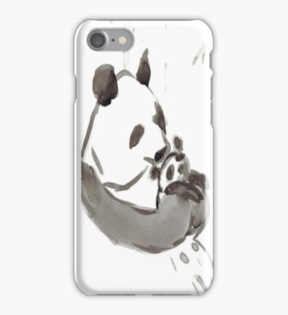 Panda Sumi-e  iPhone Case/Skin
