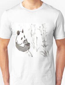 Panda Sumi-e  T-Shirt
