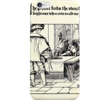 The Wonder Clock Howard Pyle 1915 0137 The Prince Finds the Sword of Brightness iPhone Case/Skin