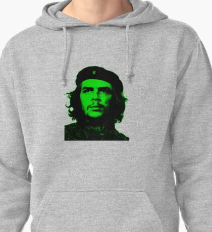 Che Guevara ( Green tint) Pullover Hoodie
