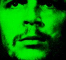 Che Guevara ( Green tint) Sticker