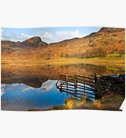 The Fence - Blea Tarn Poster