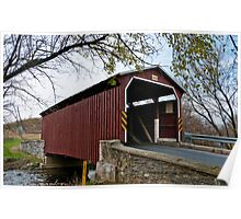 Landis Mill Covered Bridge Poster