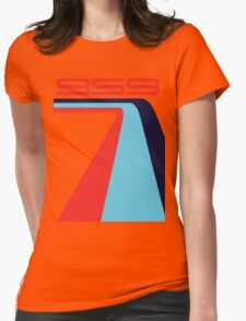 959 turbo Womens Fitted T-Shirt