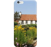 Garden Cottage Culross iPhone Case/Skin