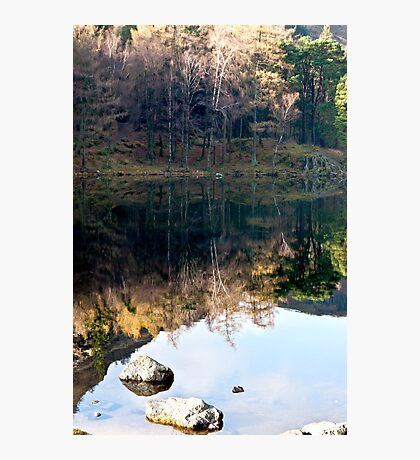 Reflections at Blea Tarn Photographic Print