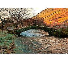Packhorse Bridge - Wasdale Head Photographic Print