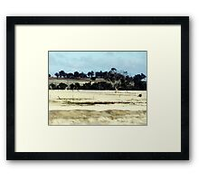 On the Brookton Highway Framed Print