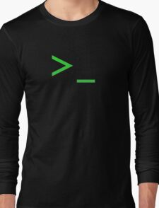 Command Prompt Long Sleeve T-Shirt