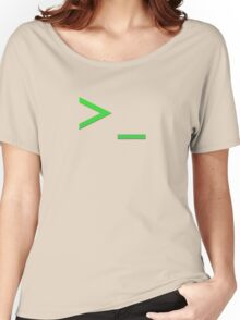 Command Prompt Women's Relaxed Fit T-Shirt