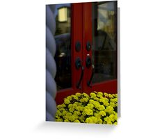 entry bouquet Greeting Card
