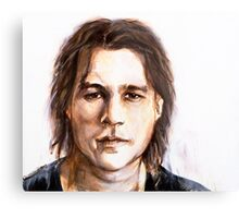 Heath Ledger Tribute Metal Print