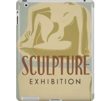 WPA United States Government Work Project Administration Poster 0649 Sculpture Exhibition New York City Art Project iPad Case/Skin