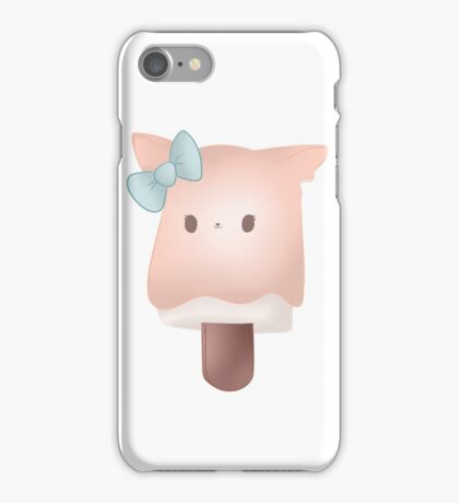 Cat popsicle iPhone Case/Skin