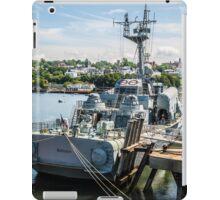 Soviet Missile Corvette: Battleship Cove Fall River, MA iPad Case/Skin