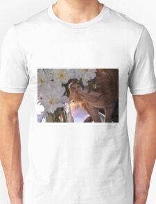 Eli in My Peonies T-Shirt