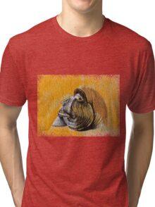 A man's face Tri-blend T-Shirt