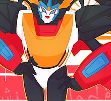Windblade Rescue Bots Posing by 88bullets