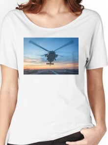 MH-60S Seahawk Helicopter Women's Relaxed Fit T-Shirt