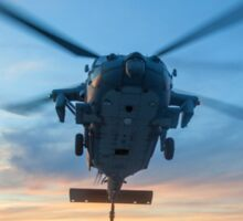 MH-60S Seahawk Helicopter Sticker