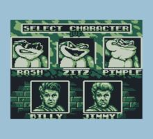 Battletoads - Select Character Kids Clothes