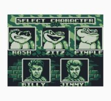 Battletoads - Select Character Kids Tee