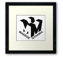 MASSIVE DYNAMIC Framed Print
