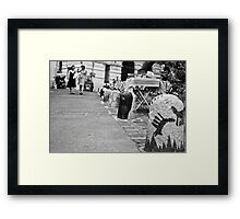Charms of south Framed Print
