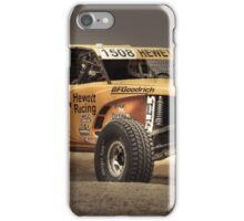 Yellow Buggy at Dusk iPhone Case/Skin