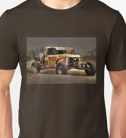 Yellow Buggy at Dusk Unisex T-Shirt
