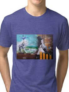 Drowning by indifference Tri-blend T-Shirt