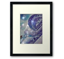 The Future Is In The Stars Framed Print