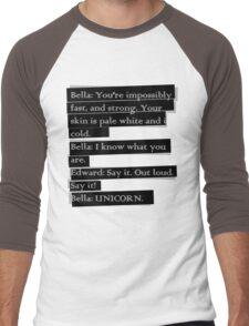 Twilight Spoof Men's Baseball ¾ T-Shirt