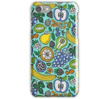 Fruit Cocktail Mint Background iPhone Case/Skin