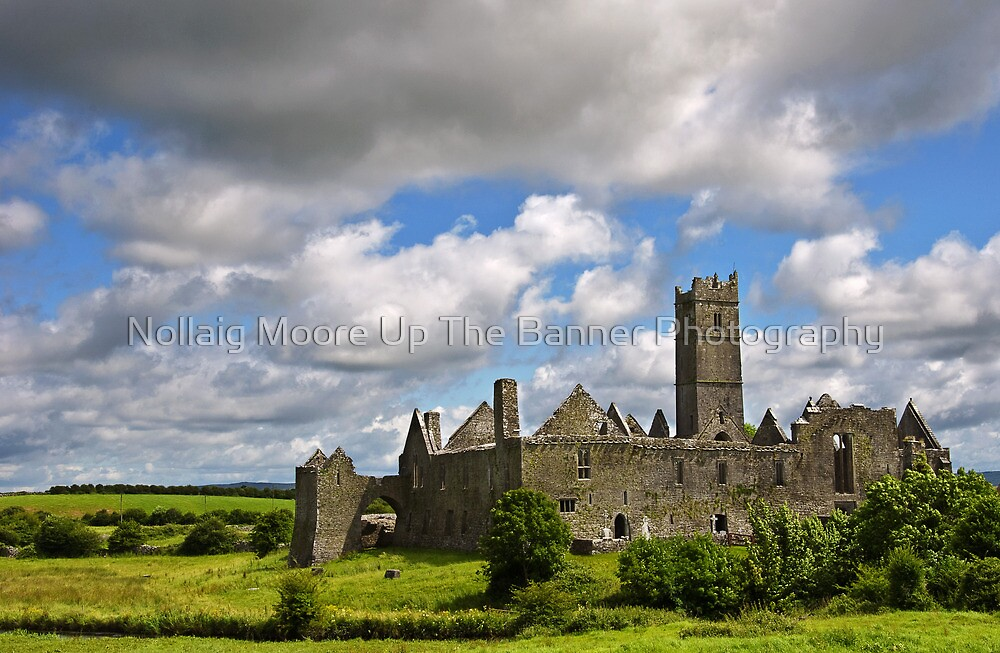Quin Abbey, County Clare, Ireland by Noel Moore Up The Banner Photography