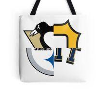 Pittsburgh Team Quarters Tote Bag