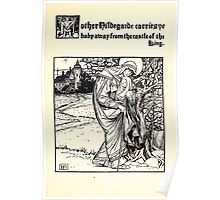The Wonder Clock Howard Pyle 1915 0221 Mother Nildegarde Carries Babay Away From Castle of King Poster