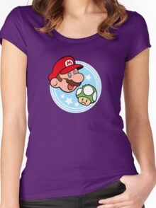 1 UP! Women's Fitted Scoop T-Shirt