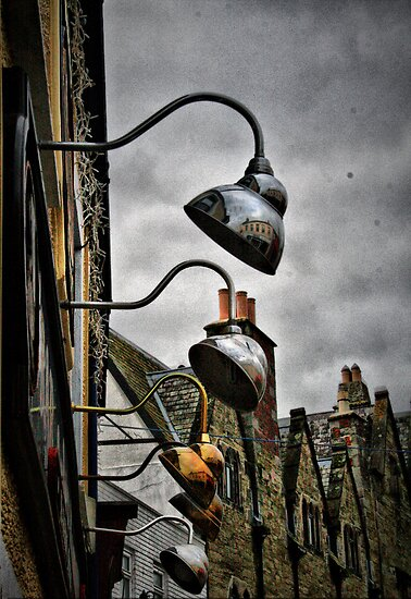 Pub lights by Roxy J