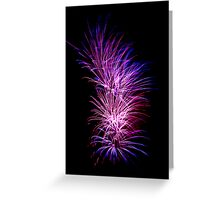 Fireworks Greeting Card