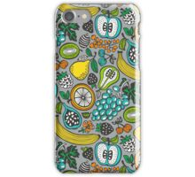 Fruit Cocktail in Gray iPhone Case/Skin
