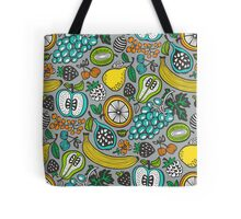 Fruit Cocktail in Gray Tote Bag