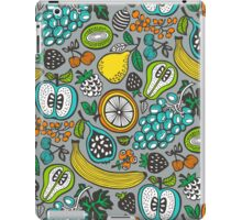 Fruit Cocktail in Gray iPad Case/Skin