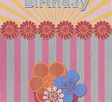 Birthday Card 1 by Tanja Udelhofen